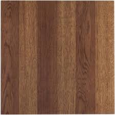 Peel And Stick Wood Floor Tivoli Medium Oak Plank Look 12x12 Self Adhesive Vinyl Floor Tile