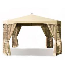 Walmart Bbq Canopy by Garden Winds Replacement Canopy For Gazebos Sold At Walmart Or