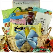 easter gift basket easter wishes gourmet sugar free easter gift basket