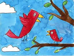 birds in a tree projects for