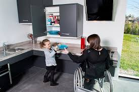 cuisine pour handicapé des cuisines adaptées à tous mobalpa