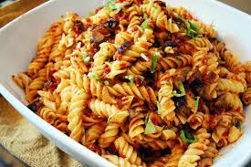 download cold tomato pasta salad recipe food photos