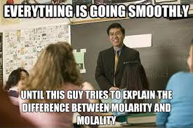 Asian Teacher Meme - everything is going smoothly the meta picture