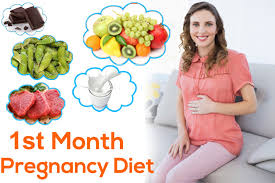 1st month of pregnancy diet which foods to eat and avoid