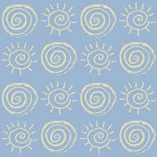 suns roses on sky baby fabric anniedeb spoonflower