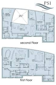 Penthouse Floor Plan by 4 Bedroom Penthouse A6025 Sky Tower Al Reem Island