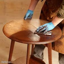 How To Remove Water Rings From Wood Table How To Refinish Furniture Family Handyman