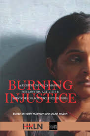 burning injustice a book on acid attack by hrln