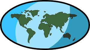 Simple World Map by The World Map Clipart