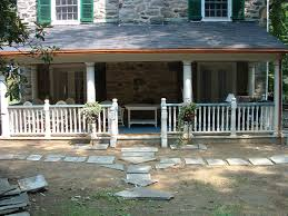adding a porch a colonial house