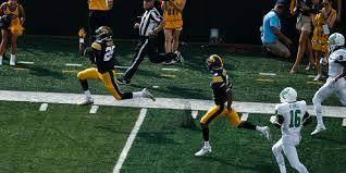 Iowa Hawkeyes Flag Questionable Flag Wipes Out Akrum Wadley U0027s 74 Yard Iowa Touchdown