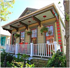 new orleans style homes new orleans home trimmed in red uptown laurel street cozy