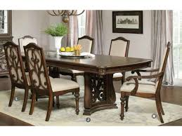 trestle dining table set antique java cream fabric trestle dining table set shop for