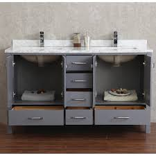 Bathroom Vanities 72 Inches Double Sink by Buy Vincent 72 Inch Solid Wood Double Bathroom Vanity In Charcoal
