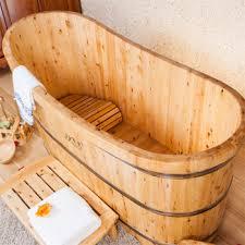 Wood Bathtubs Mini Bathroom Luxury Bathtub Cedar Wood Bathtub Wooden Bathtub
