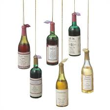 wine label sentiments wine bottle ornaments