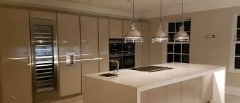 Kitchen Remodel White Cabinets Granite Countertop White Gloss Kitchen With Black Worktops Lg