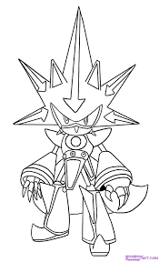 super sonic coloring pages download print free
