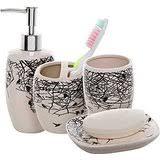 amazon com contemporary bathroom accessory sets bathroom