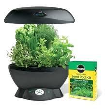 indoor herb garden kits to grow herbs indoors hgtv click grow indoor smart fresh herb garden kit grow herbs indoors