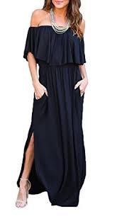 party dresses thanth womens the shoulder ruffle party dresses side split