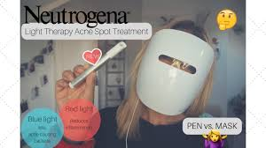 neutrogena light therapy acne spot treatment review pen vs mask neutrogena light therapy acne spot treatment which