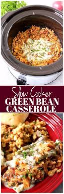 cooker green bean casserole recipe crunchy sweet