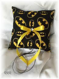 batman wedding ring batman wedding ring pillow black and yellow wedding ring pillow