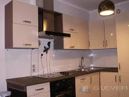 glaspaneele küche küchen glaspaneel innowacyjne zabudowy szklane glever