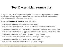 Journeyman Electrician Resume Sample by High Voltage Electrician Cover Letter
