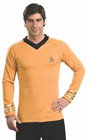 star trek halloween mask amazon com star trek classic deluxe shirt costume clothing