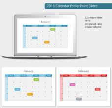 free powerpoint calendar template 2015 powerpoint calendar