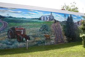 Barn Murals Small Town Minnesota Murals Grassroots Art Minnesota Prairie Roots