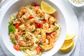 Olive Garden In Little Rock by Shrimp Scampi With Asparagus And Tomatoes Saving Room For Dessert
