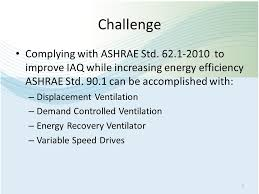 Challenge Std Implementing Demand Controlled Ventilation To Meet Ashrae Standard
