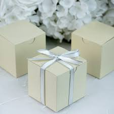 wholesale favors 200 pcs 3x3x3 inch paper gift boxes wedding favors easy packaging