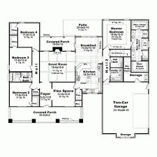 Four Bedroom Bungalow Floor Plan 55 Best Home Plans Images On Pinterest House Floor Plans Dream