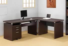 Office Desk Designs Popular Office Furniture L Shaped Desk In Home Intended For