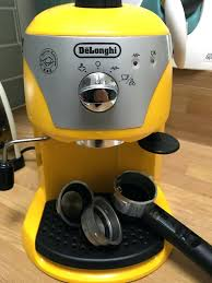 delonghi magnifica red light coffee makers delonghi yellow coffee maker machine delonghi yellow