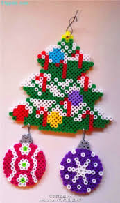 1360 best christmas images on pinterest fuse beads hama beads