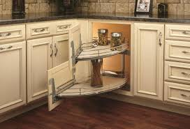kitchen cabinet blind corner solutions a spin on the blind corner cabinet woodworking network