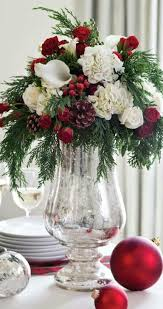 Make Your Own Christmas Centerpiece - best 25 christmas floral arrangements ideas on pinterest