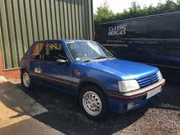 blue peugeot for sale classic one owner 16 700 miles miami blue peugeot 20 for sale