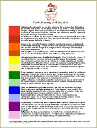 mood colors meanings what color means what color means brilliant best 25 color