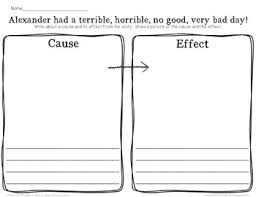 u0026 effect alexander and the terrible horrible no good very bad day