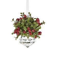 christmas mistletoe small christmas mistletoe ornament bed bath beyond