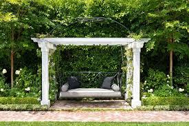 pergola with trellis pergola swing landscape traditional with arbor arched beige