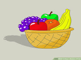 basket of fruit how to draw a basket of fruit 8 steps with pictures wikihow