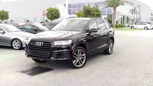 all audi q7 2017 audi q7 3 0t prestige titanium black optic package at audi