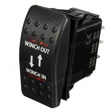 12v 7 pin 20a winch in out on off on arb rocker switch car boat 4